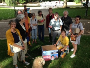 group of patronize of France Greece Solidarity for Health for Yonne - 89